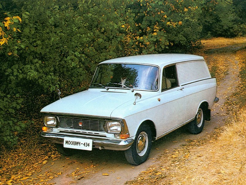 Москвич-434 базовый фургон. автомобиль, иж412, фоторепортаж