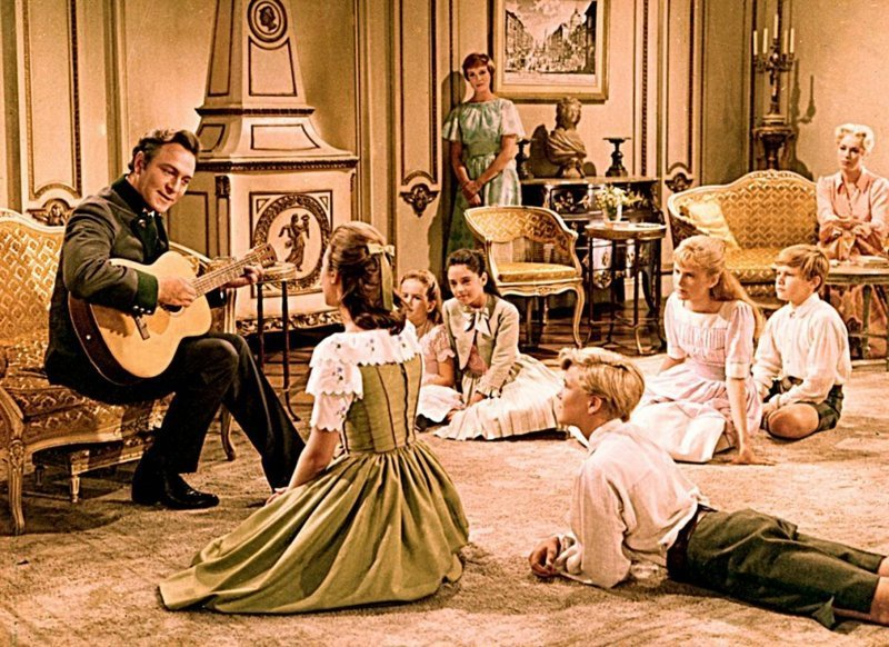 «Звуки музыки» (США, мюзикл, мелодрама) (The Sound of Music, 1965) Любовь, кино, мелодрамы, фильмы, фишки-мышки, что посмотреть