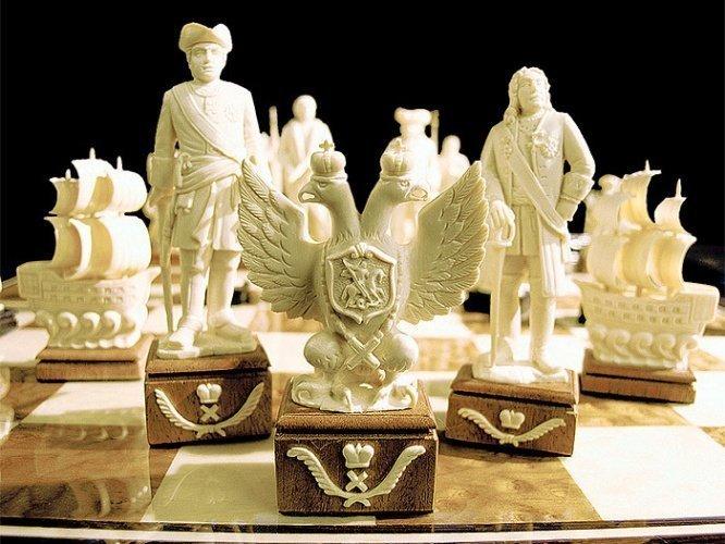 """""""Российские"""" искусство, красота, мастерство, невероятное, талант, шахматы"""