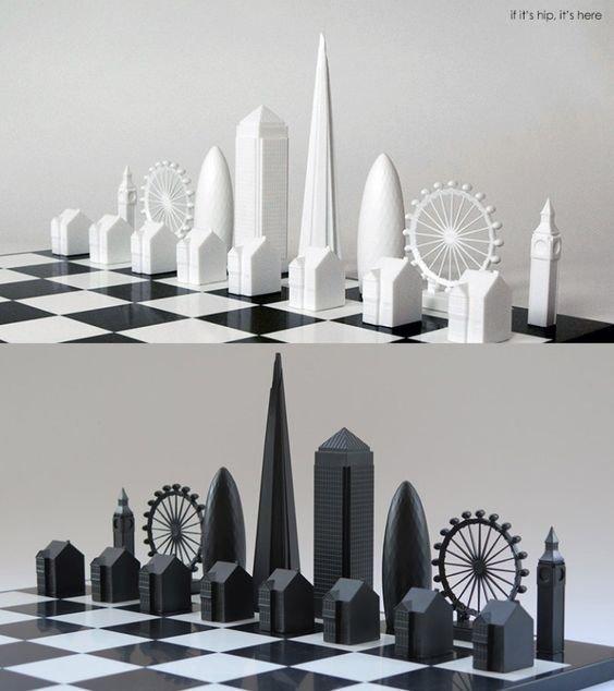 Архитектурные искусство, красота, мастерство, невероятное, талант, шахматы