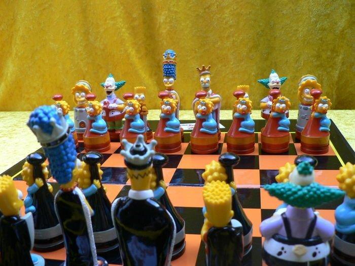 Симпсоны искусство, красота, мастерство, невероятное, талант, шахматы