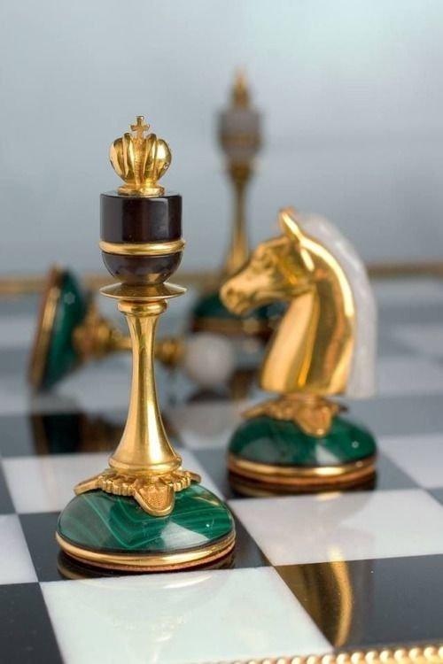 Малахитовые с золотом искусство, красота, мастерство, невероятное, талант, шахматы