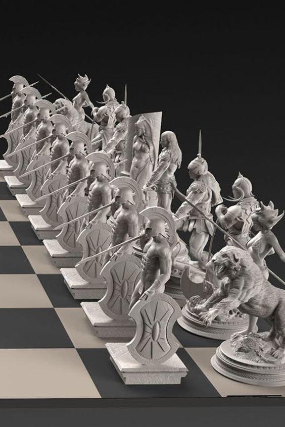 Римские искусство, красота, мастерство, невероятное, талант, шахматы