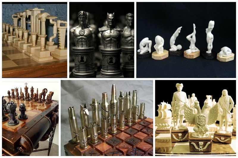 Самые дорогие и просто красивые шахматы искусство, красота, мастерство, невероятное, талант, шахматы