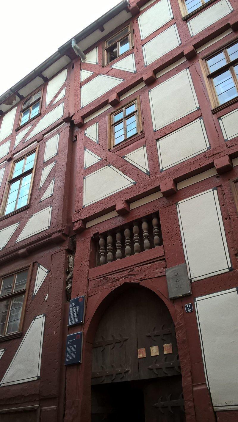 Дом Ломоносова в Марбурге Марбург, дом, ломоносов