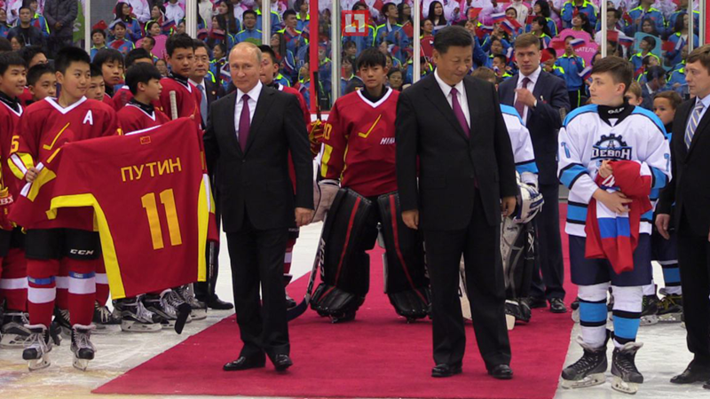 Путин наведался в Китай, где подарил баню и приготовил гоубули ynews, видео, визит в Китай, интересное, китай, путин, фото