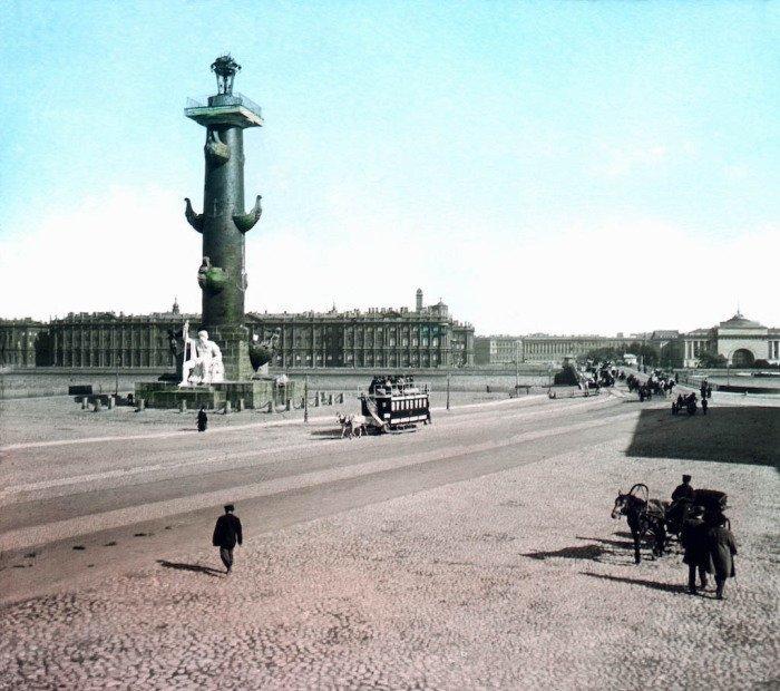 Зимний дворец. Санкт-Петербург, 1896 г. история, прошлое, фото