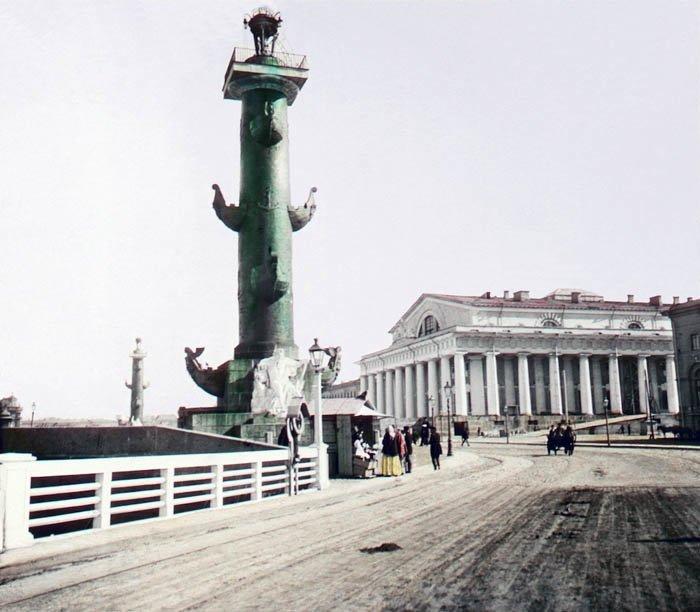 Торговля на набережной. Санкт-Петербург, 1896 г. история, прошлое, фото