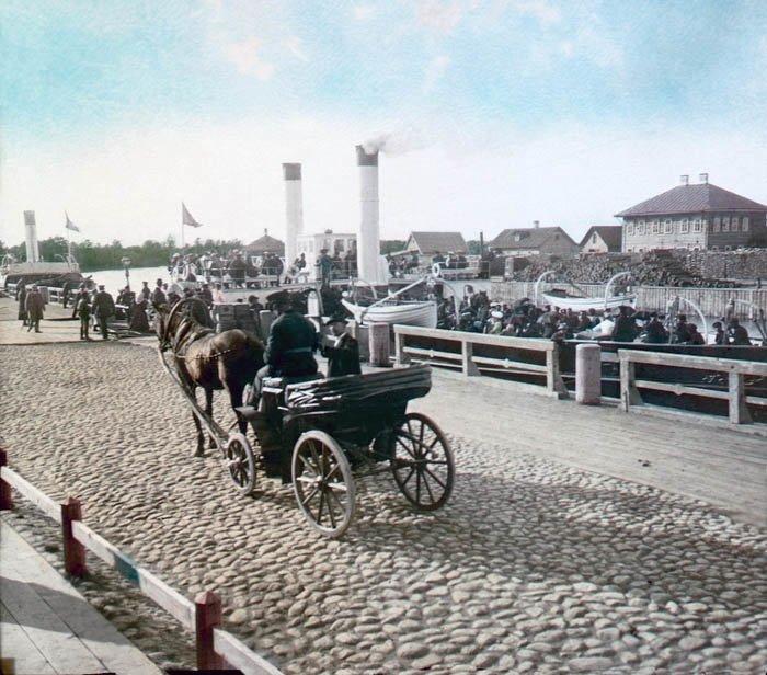 Портовый извозчик. Санкт-Петербург, 1896 г. история, прошлое, фото