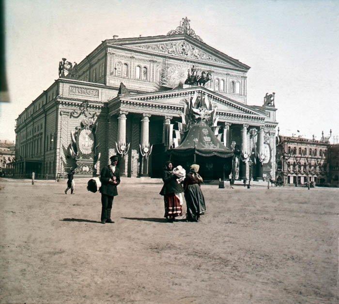 Большой театр. Москва, 1896 г. история, прошлое, фото