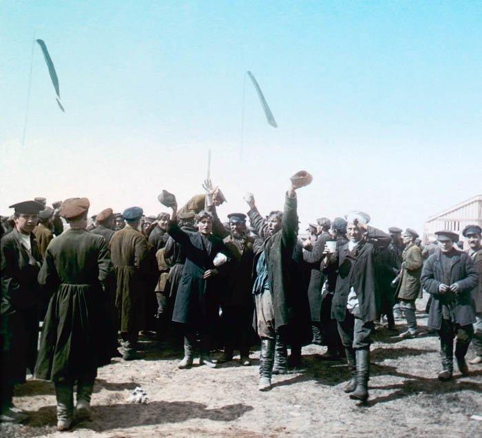 Народные гуляния на Ходынском поле 30 мая 1896 года. Москва, 1896 г.  история, прошлое, фото