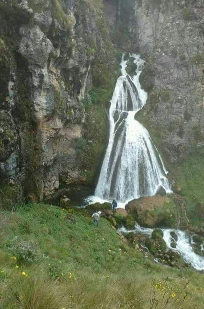 Водопад, который напоминает невесту в белом платье занимательно, знаем чуть больше, интересно, прикол, теперь всё видели