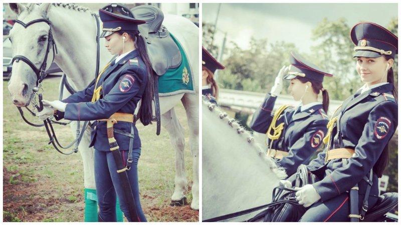 Японцы готовы нарушать законы ради русской девушки-полицейской ynews, девушки, интересное, красота, полиция, фото, япония