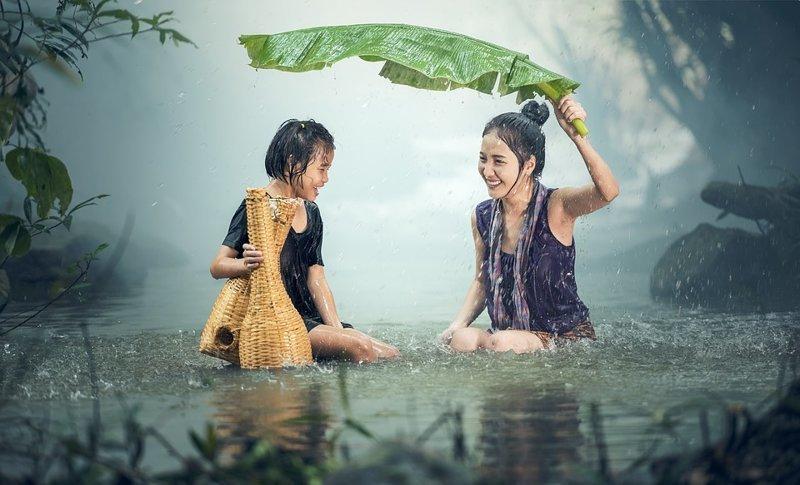 2,5 сантиметра — таким слоем воды покроется Земля, если вся влага, содержащаяся в атмосфере в виде пара, прольется дождем интересное, мир, факты, цифры