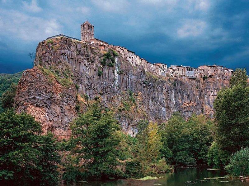 Испанская деревушка Ронда дом, интересное, красиво, обрыв, строения