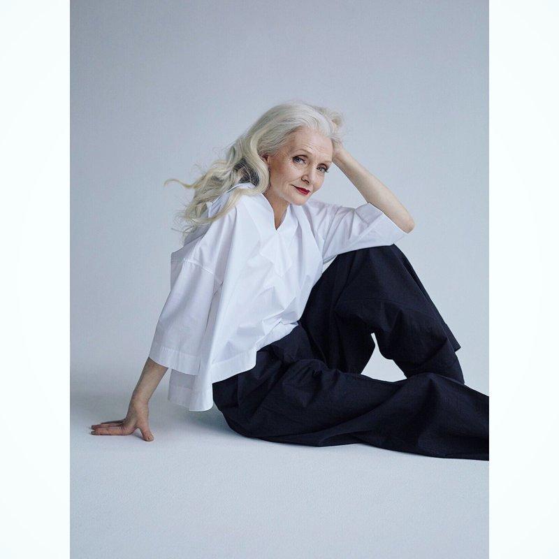 Россиянка стала моделью в 70 лет: она участвует в модных показах и снимается для глянцевых журналов в мире, возраст, красота, люди, модель