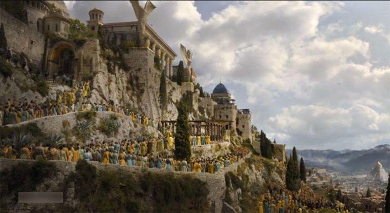 6. Миерин  замки, игра престолов, места съемок, пейзажи, сериал, фэнтези