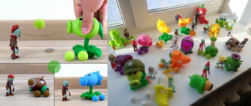 """9. <a href=""""http://bit.ly/2JuLADD"""">Забавная игрушка """"Растения против зомби""""</a> aliexpress, алиэкспресс, подарки, покупки, развлечения, скидки, творчество, техника"""