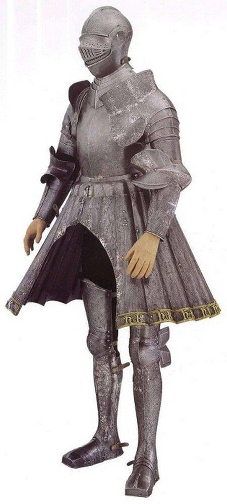 Доспехи Генриха VIII из Метрополитен-музея, Нью-Йорк доспехи, рыцари, средневековье