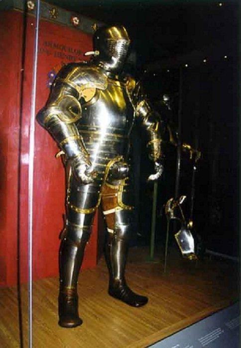 Доспешный гарнитур 1540 года доспехи, рыцари, средневековье