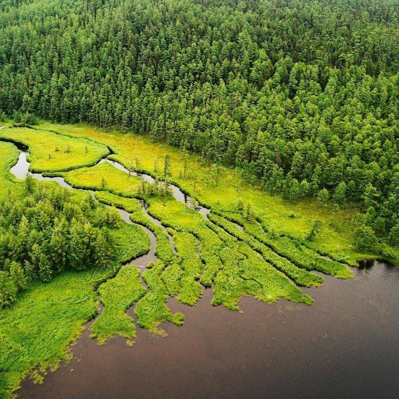 Бухта Онгачан, Шантарские острова, Хабаровский край горы, леса, природа, природа России, российская природа, россия