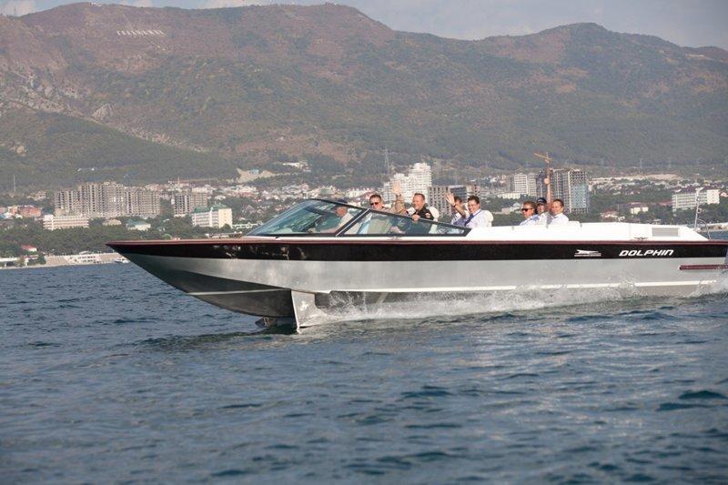 Дельфин-1 - морской пассажирский катер на подводных крыльях Алексеева, Конструкторское бюро, фоторепортаж