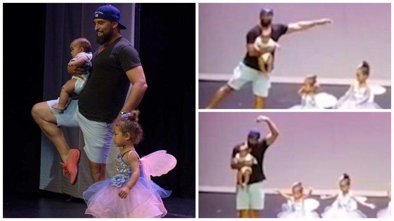 Видео: отец поддержал свою дочь на сцене и стал звездой шоу Отцы и дочери, крутой, молодец, отец и дочка, отец и дочь, папа, папа жжёт, папа и дочка