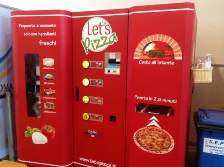 1.  Этот готовит пиццу за 3 минуты Вендинговые автоматы, С миру по нитке, вендинговый аппарат, вот это да!, до чего техника дошла, познавательно, торговые автоматы, торговый автомат