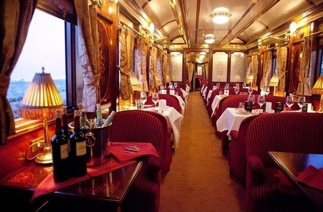 Поезд «The Orient Express» поезд, роскошная жизнь, роскошь