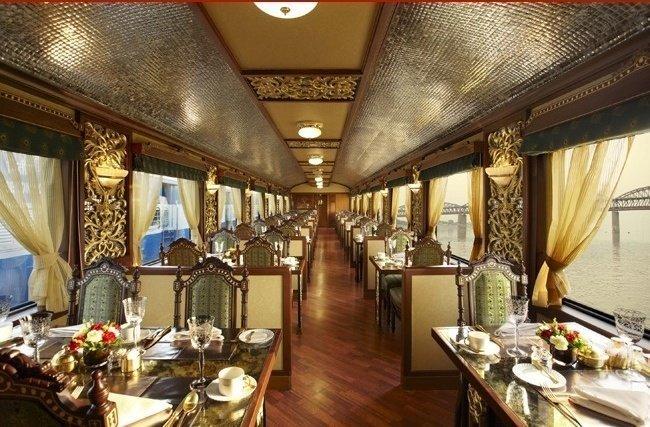 Поезд «Maharagas' Express» поезд, роскошная жизнь, роскошь