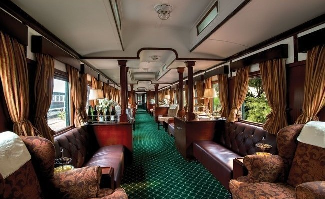 Поезд «Rovos Rails Express» поезд, роскошная жизнь, роскошь