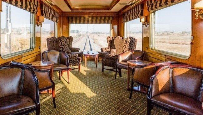 Поезд «The Blue Train» поезд, роскошная жизнь, роскошь