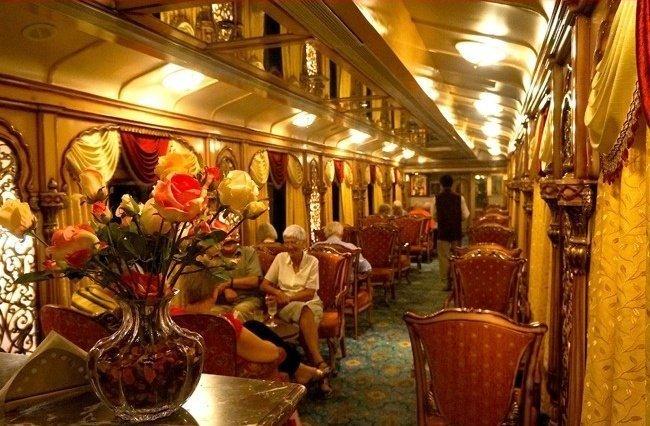 Поезд «Golden Chariot» поезд, роскошная жизнь, роскошь
