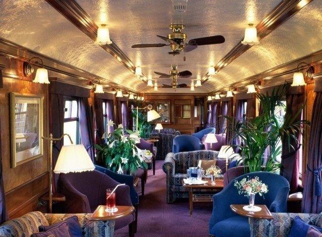 Поезд «Royal Scotsman» поезд, роскошная жизнь, роскошь