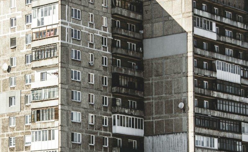Калининград дома, панельки, советские панельки, фотография, эстетика