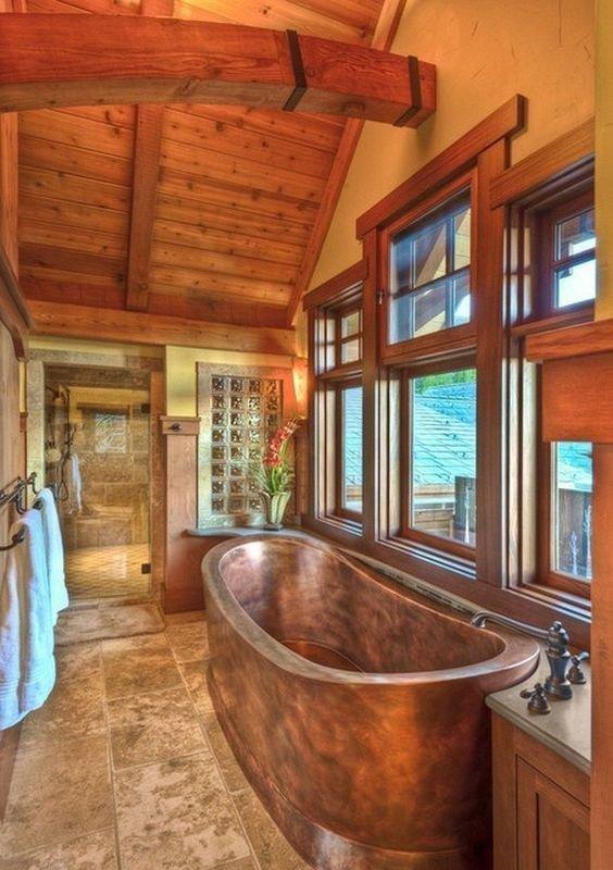 Медная ванна Фабрика идей, ванны, жизайн, интересное, красиво