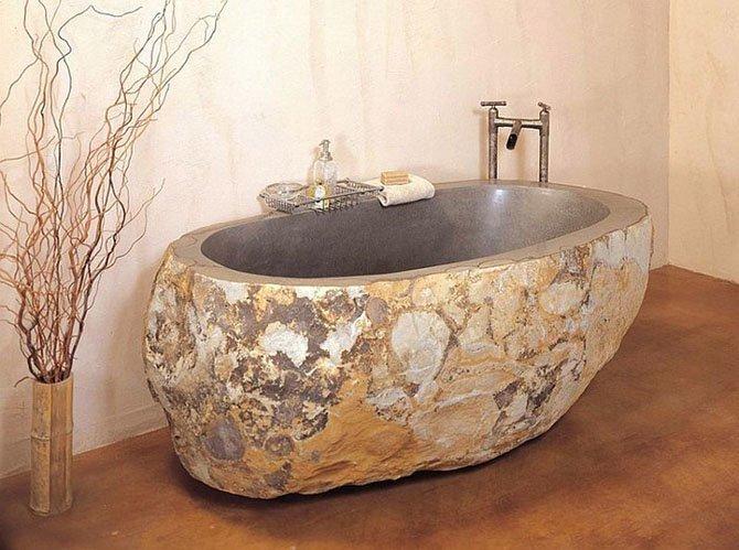 Каменные и бетонные Фабрика идей, ванны, жизайн, интересное, красиво