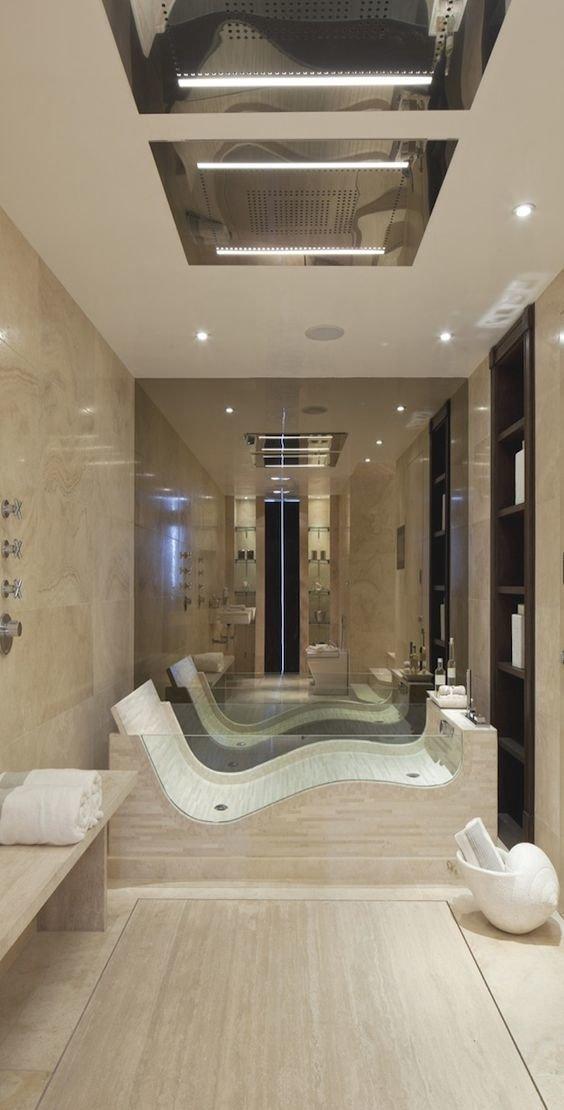 Стеклянные ванны Фабрика идей, ванны, жизайн, интересное, красиво