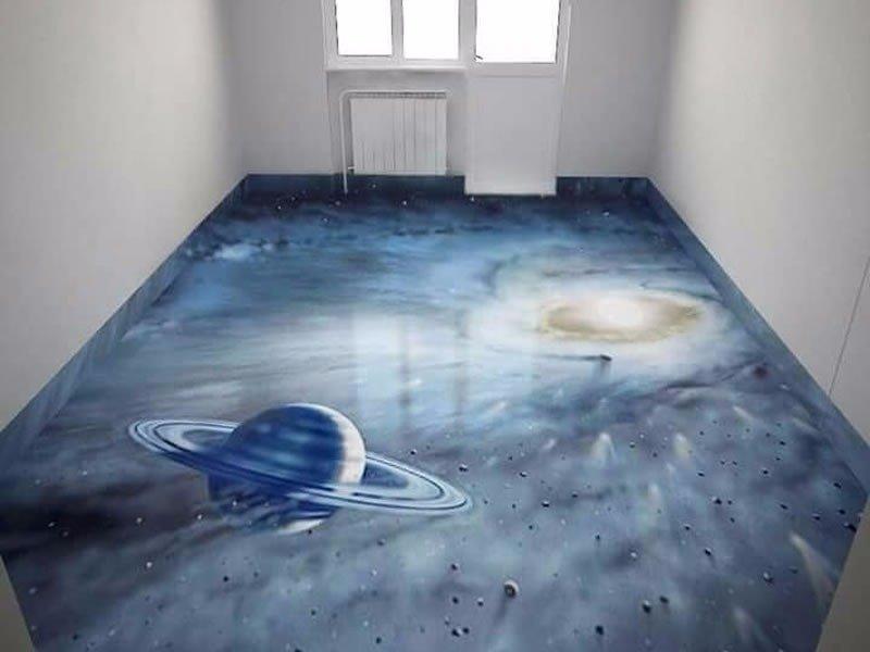 Космос Фабрика идей, интересно, креативно, наливные полы, смело, фантазия