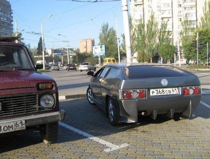 7. авто, машины, переборщили, смешно, тюнинг, тюнинг авто, фото