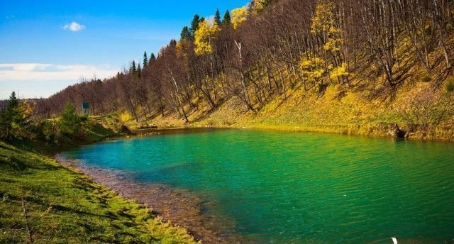 Уникальное озеро Сарва в Башкирии Сарва, озеро, уникальное озеро