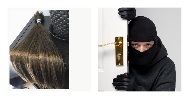 В Калининграде вор похитил шесть килограммов женских волос ynews, волосы, калининград, кража