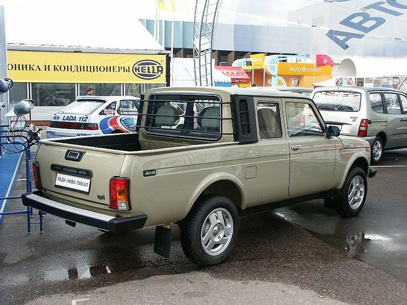 LADA 4x4 Pickup автомобили, ваз, фоторепортаж
