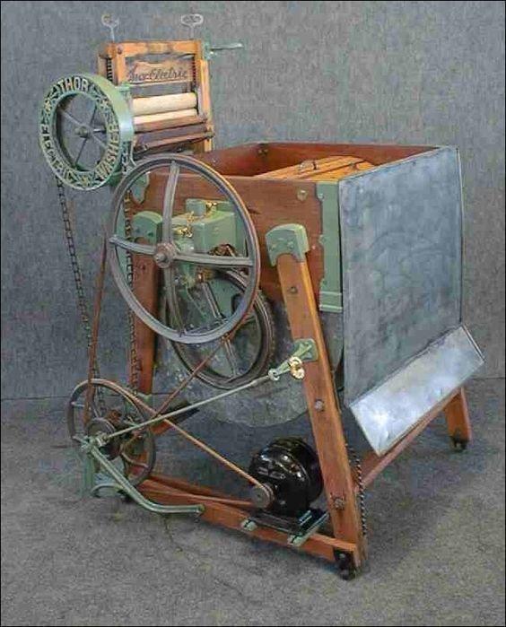 5. Стиральная машина 1908 года и нынешняя стиральная машина время, изменения, история, новые разработки, прогресс, сообразительность