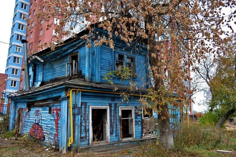 Заброшенный дом недалеко от сенной площади, Нижний Новгород заброшенка, заброшенные места, развалины