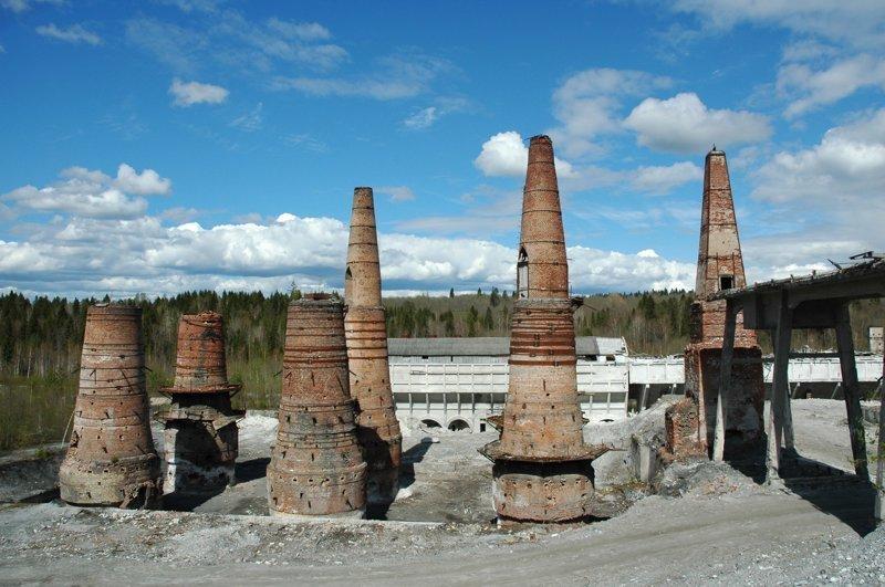 Бывший мраморный завод, Рускеала заброшенка, заброшенные места, развалины