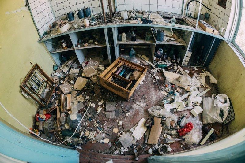 Развалины урановой обогатительной фабрики, Киргизия заброшенка, заброшенные места, развалины