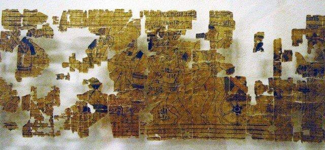 Современное состояние Туринского эротического папируса  древний египет, интересно, история