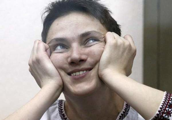 Надежды Савченко питают бесэдер, карикатуры, мировые новости, новости, рисунки, юмор