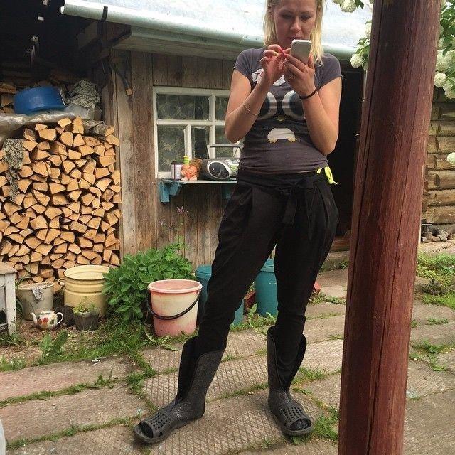 Колоритные фото из русской деревни деревня., прикол, юмор